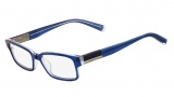 Nautica N8076 Eyeglasses Eyeglasses - 414 Midnight Blue