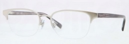 DKNY DY5640 Eyeglasses Eyeglasses - 1209 Brushed Silver / Demo Lens