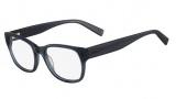Nautica N8077 Eyeglasses Eyeglasses - 416 Crystal Blue