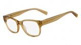 Nautica N8077 Eyeglasses Eyeglasses - 740 Crystal Yellow