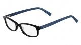 Nautica N8080 Eyeglasses Eyeglasses - 300 Black / Blue