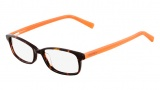 Nautica N8080 Eyeglasses Eyeglasses - 310 Dark Tortoise / Orange