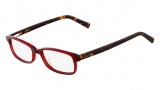 Nautica N8080 Eyeglasses Eyeglasses - 625 Red / Tortoise