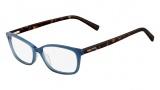 Nautica N8081 Eyeglasses Eyeglasses - 424 Blue / Tortoise