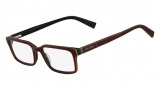 Nautica N8082 Eyeglasses Eyeglasses - 200 Dark Brown