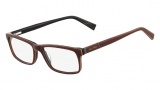 Nautica N8085 Eyeglasses Eyeglasses - 200 Dark Brown