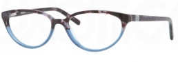 DKNY DY4633 Eyeglasses Eyeglasses - 3555 Brown Havana on Transp Blue / Demo Lens