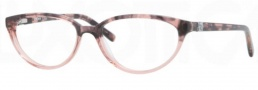DKNY DY4633 Eyeglasses Eyeglasses - 3556 Brown Havana on Pink Transp / Demo Lens