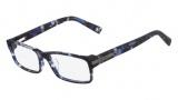 Nautica N8091 Eyeglasses Eyeglasses - 428 Blue Tortoise