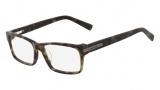Nautica N8092 Eyeglasses Eyeglasses - 314 Olive Tortoise