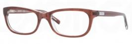 DKNY DY4635 Eyeglasses Eyeglasses - 3595 Brown on Brown TR / Demo Lens