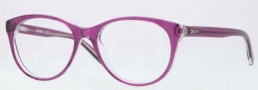 DKNY DY4637 Eyeglasses Eyeglasses - 3598 Top Cyclamen on Transparent