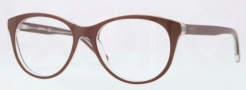 DKNY DY4637 Eyeglasses Eyeglasses - 3600 Top Brown on Transparent