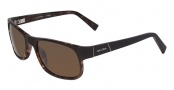 Nautica N6152S Sunglasses Sunglasses - 018 Dark Tortoise / Black Fade
