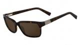 Nautica N6163S Sunglasses Sunglasses - 310 Dark Tortoise