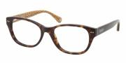 Coach HC6029 Eyeglasses Eyeglasses - 5001 Dark Tortoise / Demo Lens