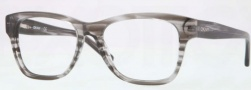 DKNY DY4641 Eyeglasses Eyeglasses - 3449 Striped Gray / Demo Lens