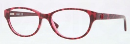 DKNY DY4642 Eyeglasses Eyeglasses - 3617 Top Leopard on Cyclamen / Demo Lens