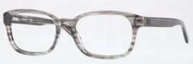 DKNY DY4643 Eyeglasses Eyeglasses - 3449 Striped Gray / Demo Lens