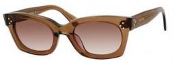 Celine CL 41029/S Sunglasses Sunglasses - 0FU4 Coffee / Brown Gradient Lens