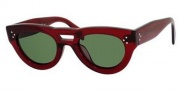 Celine CL 41030/S Sunglasses Sunglasses - 0LFV Burgundy / Green Lens