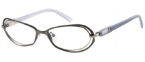 Guess by Marciano GM124 Eyeglasses Eyeglasses - GUNSI: Satin Gunmetal