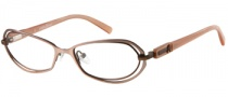 Guess by Marciano GM124 Eyeglasses Eyeglasses - ROBRN: Satin Rose Gold