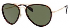Celine CL 41032/S Sunglasses Sunglasses - 0GP2 Havana / Green Lens