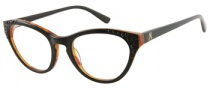 Guess by Marciano GM133 Eyeglasses Eyeglasses - BLKAM: Black Demi Amber