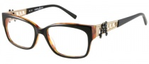 Guess by Marciano GM137 Eyeglasses Eyeglasses - BLK: Black / Demi Amber