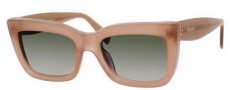 Celine CL 41039/S Sunglasses Sunglasses - 0GKY Opal Brown / Green Gradient Lens