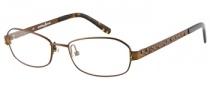 Guess by Marciano GM139 Eyeglasses Eyeglasses - BRN: Satin Brown