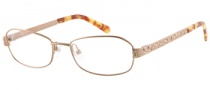 Guess by Marciano GM139 Eyeglasses Eyeglasses - GLD: Satin Warm Gold