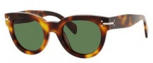 Celine CL 41040/S Sunglasses Sunglasses - 005L Havana / Green Lens