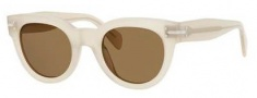 Celine CL 41040/S Sunglasses Sunglasses - 012E Sand / Brown Lens