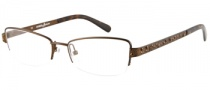 Guess by Marciano GM140 Eyeglasses Eyeglasses - BRN: Satin Brown