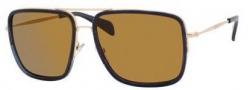 Celine CL 41041/S Sunglasses Sunglasses - 03GB Gold / Dark Grey / Brown Lens