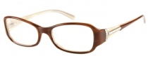Guess by Marciano GM142 Eyeglasses Eyeglasses - AMB: Amber Cream