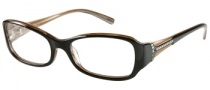 Guess by Marciano GM142 Eyeglasses Eyeglasses - BLK: Black Brown