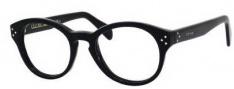 Celine CL 41300 Eyeglasses Eyeglasses - 0807 Black