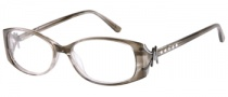 Guess by Marciano GM145 Eyeglasses Eyeglasses - SMK: Smoke Striated