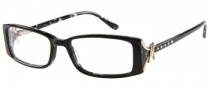 Guess by Marciano GM146 Eyeglasses Eyeglasses - BKWHT: Black White
