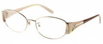 Guess by Marciano GM148 Eyeglasses Eyeglasses - GLD: Shiny Gold