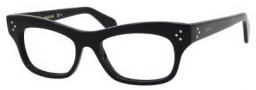 Celine CL 41303 Eyeglasses Eyeglasses - 0807 Black