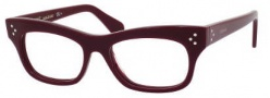 Celine CL 41303 Eyeglasses Eyeglasses - 0LHF Burgundy