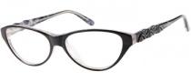 Guess by Marciano GM154 Eyeglasses Eyeglasses - BKWHT: Black White