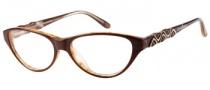 Guess by Marciano GM154 Eyeglasses Eyeglasses - BRNBE: Brown Horn