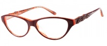 Guess by Marciano GM154 Eyeglasses Eyeglasses - BRNOR: Copper Orange