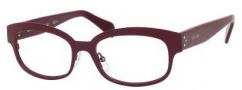 Celine CL 41307 Eyeglasses Eyeglasses - 0E9Q Burgundy