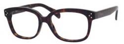 Celine CL 41322 Eyeglasses Eyeglasses - 0086 Dark Havana